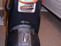 Gently Used Bissell ProHeat Upright Carpet Cleaner 12