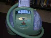"Bissell ""Little Green"" Shampooer. Like new...only used"