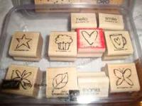 Selling the Bitty Basic stamps from Stampin up, hardy