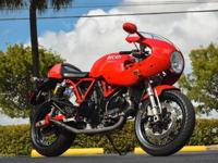 2008 DUCATI SPORTCLASSIC 1000S FINISHED IN CLASSIC