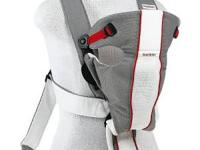 BabyBjorn Baby Carrier Air - Grey/White, Mesh