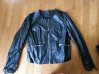 "BKE Buckle ""Leather"" coat size XL! Just worn once,"