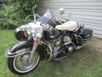 This 1964 all original FLH Panhead comes with an HD