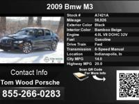 Call Tom Wood Porsche at  Stock #: A7421A Year: 2009