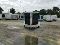 NEW! This enclosed trailer is from our Ft Pierce,