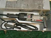 Black and Decker right angle drill. Heavy duty for