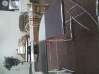 Ashley Furniture brand black and metal desk! (in like