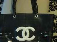 I have a Black and White Chanel Purse and Black Chanel