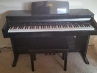 Black Behringer Concert Digital Upright Piano Asking