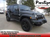 Description Make: Jeep Model: Wrangler Year: 2012 VIN