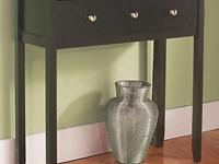 Black Console Table with