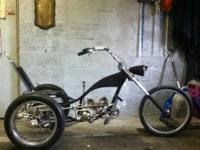 Another homemade custom bike/trike 5 speed, this one is