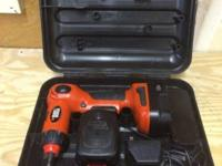 For sale is a used Black and Decker Swivel Drill, 12V