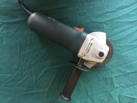 Has been used but in good shape. 6.0A motor 11,000 RPM.
