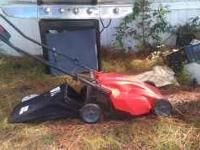 I am selling a lightly used electric lawnmower. Has