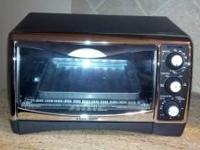 6 Slice Black & Decker Toaster Oven/Broiler (paid