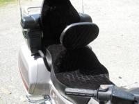 I'm selling a Black Diamond custom seat with backrest