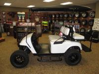 THIS EZGO BLACK DIAMOND EXPRESS HAS ALL THE ACCESSORIES