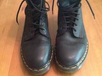 These are original 1460's. 8 hole doc martens. Made In