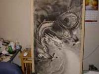 This is a Black Dragon painting that I purchassed in
