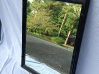 "Black Faux Bamboo Henry Link Mirror - $95 - 41""l x 27""w"