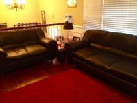 "Both the couch & loveseat are 2'10"" tall and 2' wide."