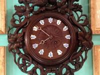 "Black Forest Clock with Birds 26.5"" High x 20"" Wide x"