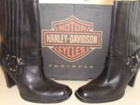 These Harley Davidson Boots( Size 71/2) were a gift and