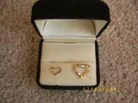 1 - Small Black Hills 10K Gold Heart Charm - $10.00