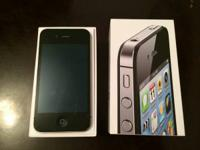 Like brand-new black iPhone 4S 16GB with all initial