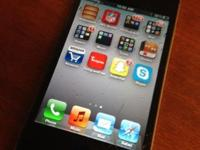 Black apple iphone 4s for AT&T, or you can flash to