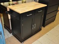 Black Kitchen Cart Our Price: $99.00 INVENTORY CHANGES