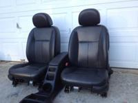From LMS - Beautiful Black Leather Power Heated Seats.