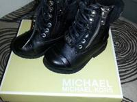 I have a pair of black leather Micheal Kors toddler