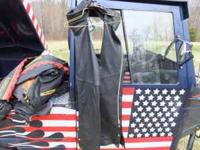 Have a nice set of black leather motorcycle chaps for