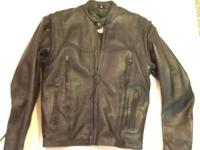 This jacket is made by American Steel from top grade