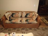 Black leather sofa in great shape and at a great price!