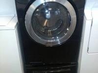 We have a Black LG front load washer in great