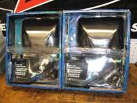 Brand new in package, Black low mount truck mirrors,
