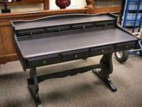 Black Maple Wood Desk    Get there 1st and check it out