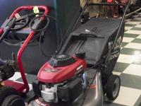 I've got a Black max push mower for sale with a Honda