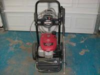 Used Black Max gas pressure washer 2600 psi, 2.3 gpm