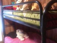 Black metal bunkbeds $125 call  /  // //]]> Location: