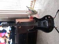 Black Michael Kelly Electric Guitar, Ultra Guitar