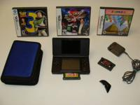 Up for sale is a working, pre owned black DS Lite