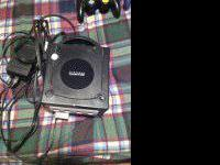 I have a black nintendo gamecube for sale (with memory
