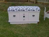 "THIS IS A REFINISHED ""LANE"" BRAND CEDAR CHEST WITH A"