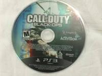 Cod: Black Ops for ps3 disc only in excellent condition