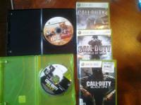 I have 5 adult owned xbox 360 games. They are COD MW 3,
