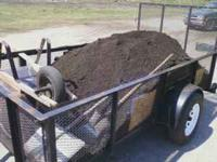 Clean ORGANIC BLACK SOIL / COMPOST ( you pay at home